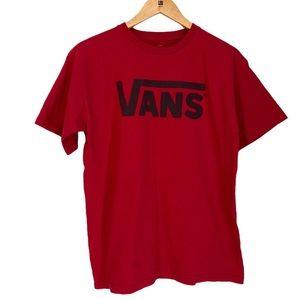 Vans Spellout Tee shirt size M